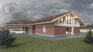 Проекты одноэтажного дома с гаражом