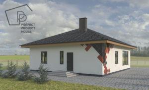 проекты домов из керамзитобетонных блоков