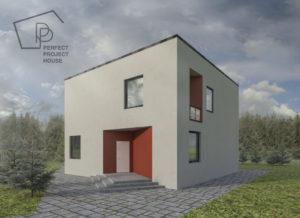 Проекты двухэтажного дома с гаражом